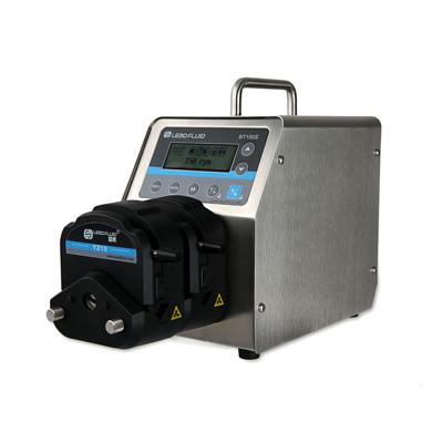 Practical application of medium temperature and flow pressure of peristaltic pump