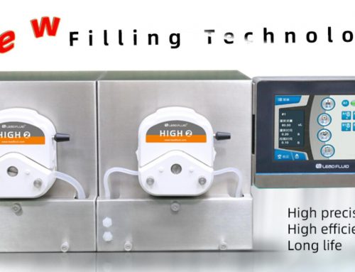 How can the filling peristaltic pump be used to increase efficiency and productivity?